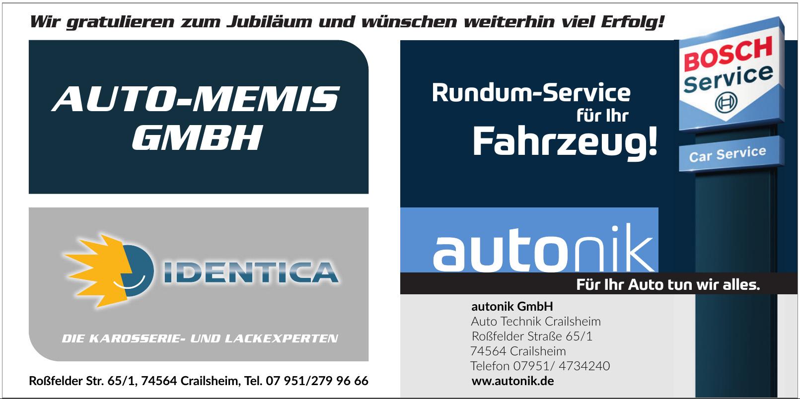 autonik GmbH Auto Technik Crailsheim