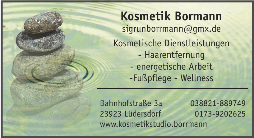 Kosmetik Bormann