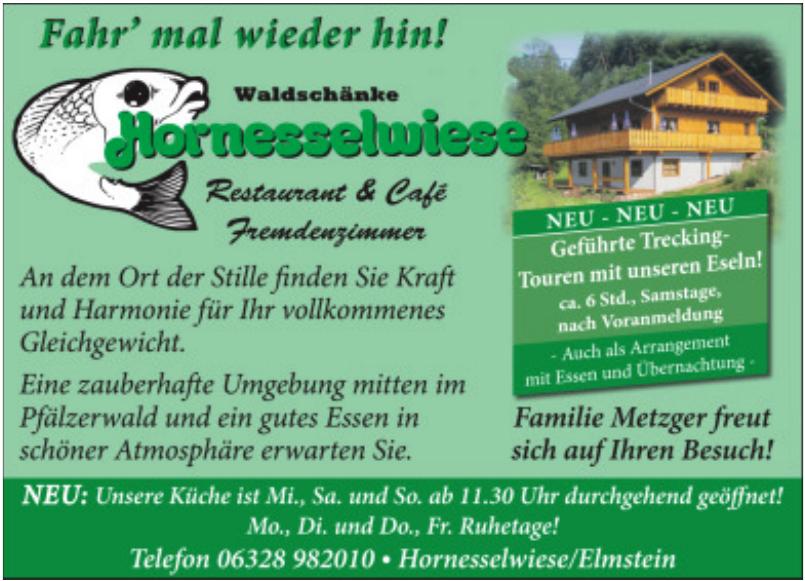 Waldschänke Hornesselwiese