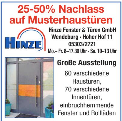 Hinze Fenster & Türen GmbH