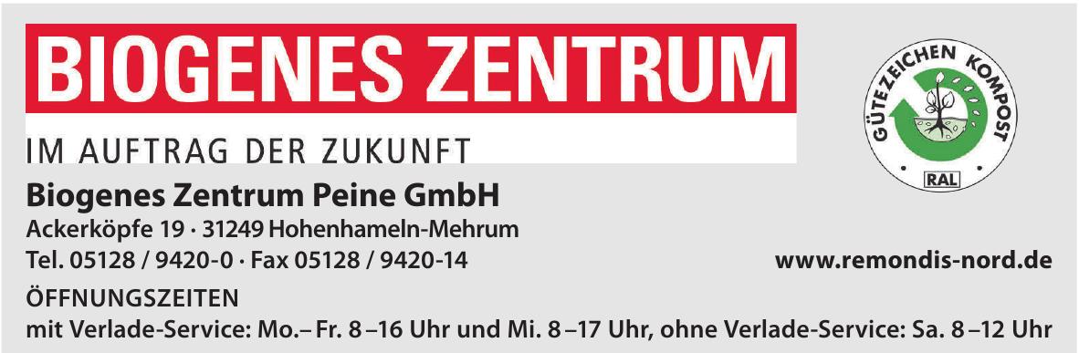 Biogenes Zentrum Peine GmbH