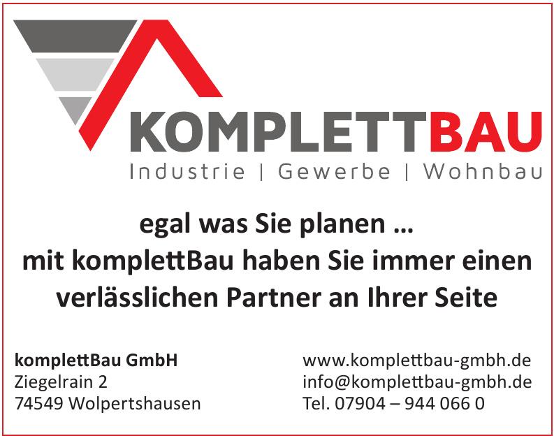 komplettBau GmbH