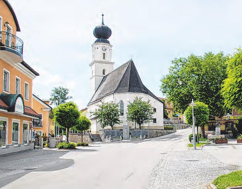 Ortsplatz von Enzenkirchen Foto: Gem. Enzenkirchen
