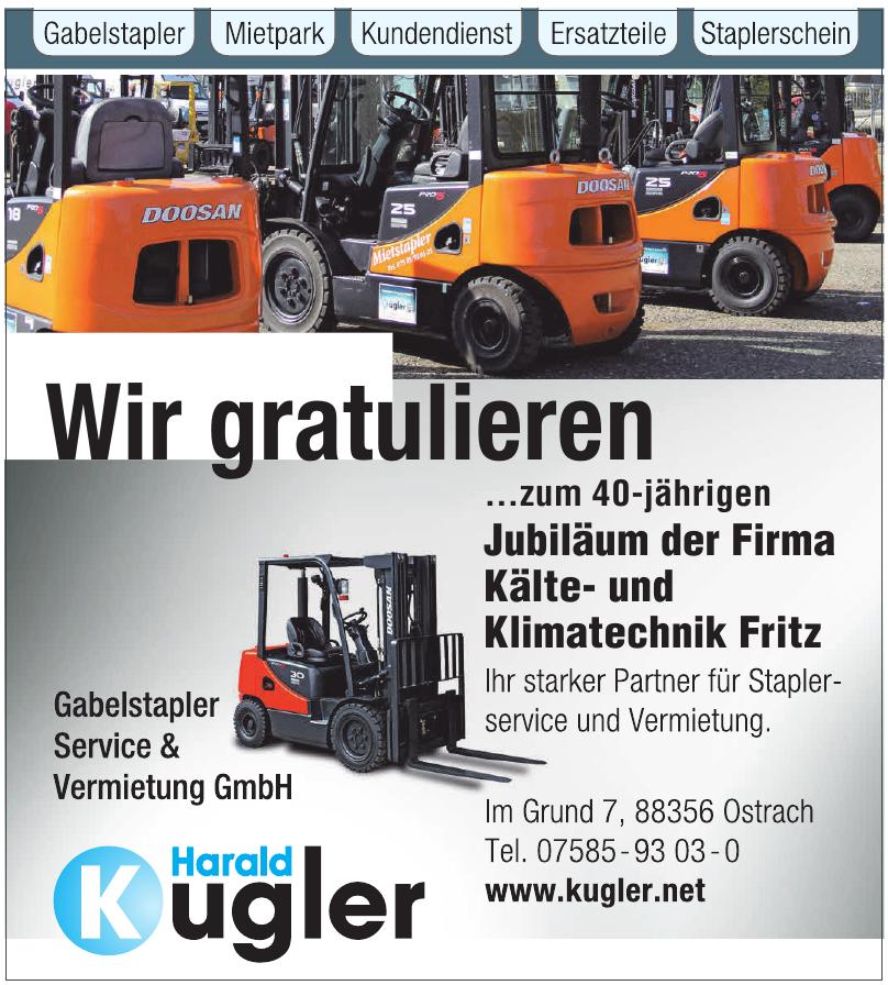 Harald Kugler Gabelstaplerservice- und Vermietung GmbH