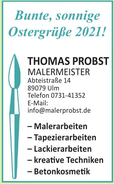 Thomas Probst - Malermeister