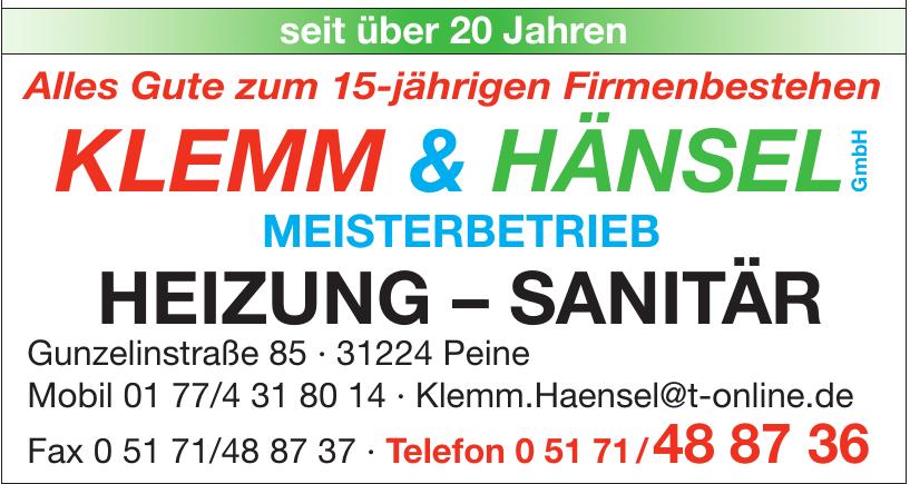 Klemm & Hänsel
