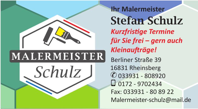 Malermeister Stefan Schulz