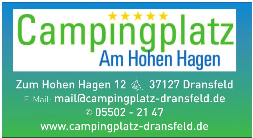 Campingplatz Am Hohen Hagen