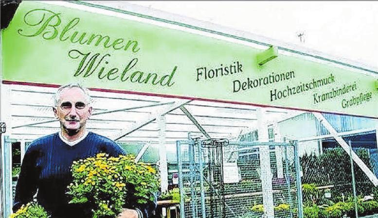 Vor 21 Jahren hat sich Gärtnermeister Willi Wieland selbstständig gemacht – zunächst in seinem Heimatort Rot am See. Foto: Archiv