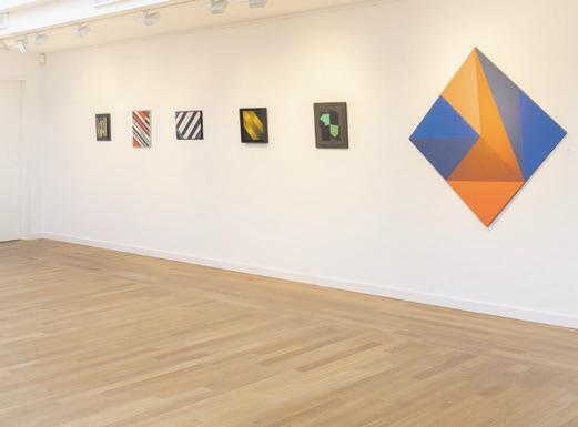 """Ausstellungsansicht Vorbesichtigung für die 300. Jubiläumsauktion """"Tendenzen der Abstraktion"""", 2020. Foto: Karl & Faber Kunstauktionen"""