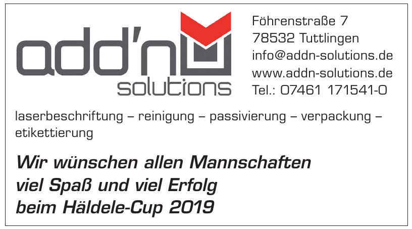 add'n solutions GmbH & Co. KG