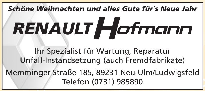 Renault Hofmann