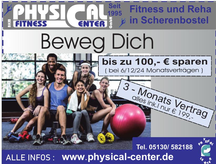 BKM Physical Fitness Center GmbHq