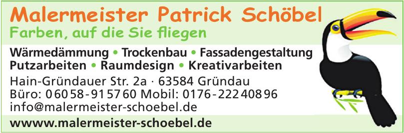 Malermeister Patrick Schöbel