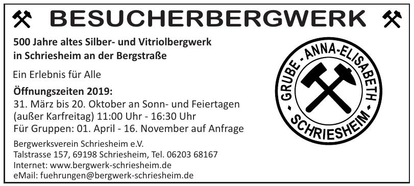 Bergwerksverein Schriesheim e.V.