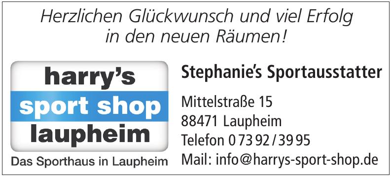 Stephanie's Sportausstatter