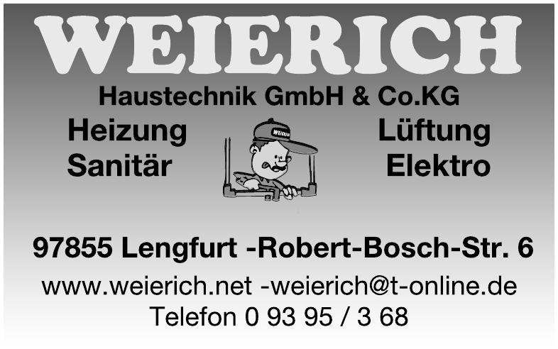 Weierich Haustechnik  GmbH & Co.KG