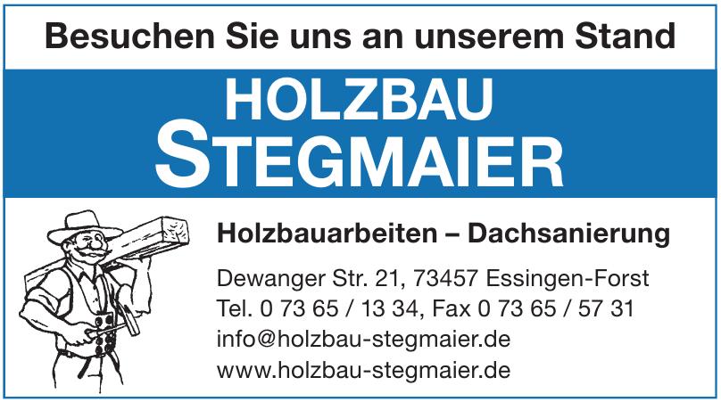 Holzbau Stegmaier