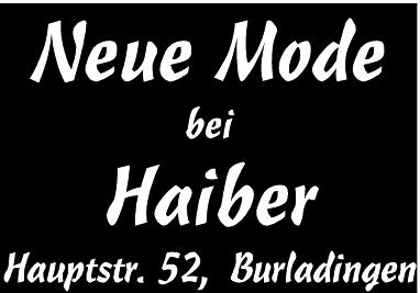 Modehaus Haiber