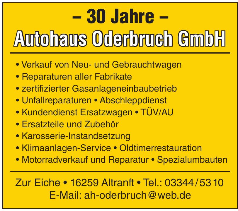 Autohaus Oderbruch GmbH