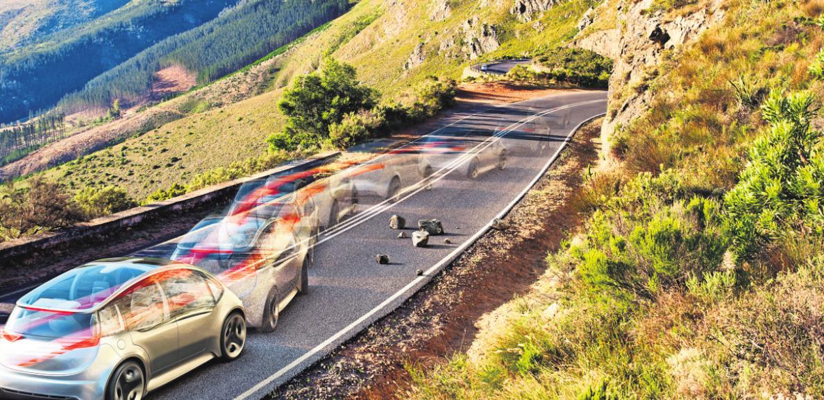 Ausweichen, ohne ins Schleudern zu kommen: Das Elektronische Stabilitäts-Programm (ESP) hilft dabei, Tausende Unfälle zu verhindern. Foto: z/djd/Bosch