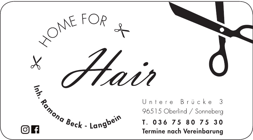 """Home for Hair"""