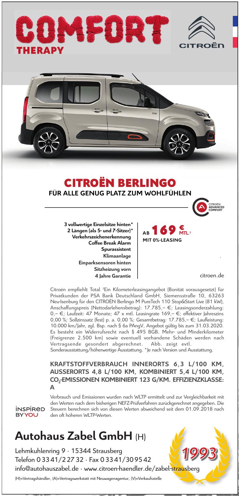 Citroën Autohaus Zabel GmbH