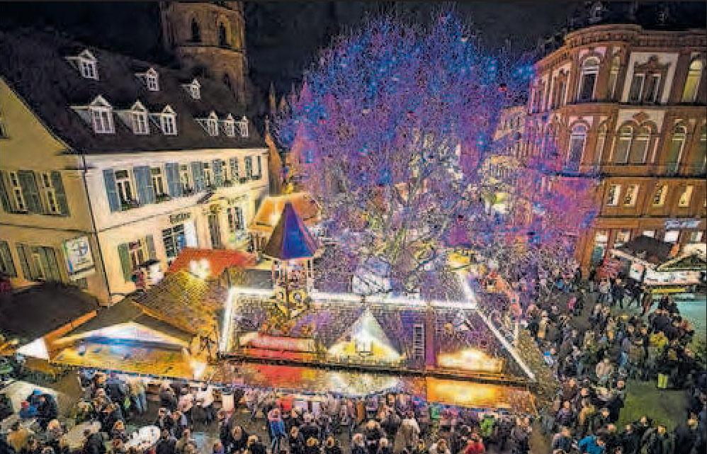 Vorfreude auf Weihnachten: Märkte wie hier in Kaiserslautern. Archivfoto: view