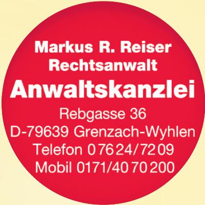 Anwaltskanzlei Markus R. Reiser