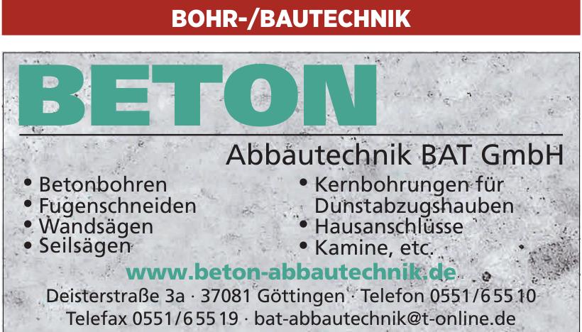 Abbautechnik BAT GmbH