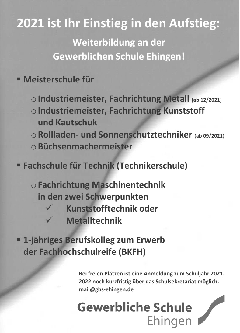 Gewerbliche Schule Ehingen