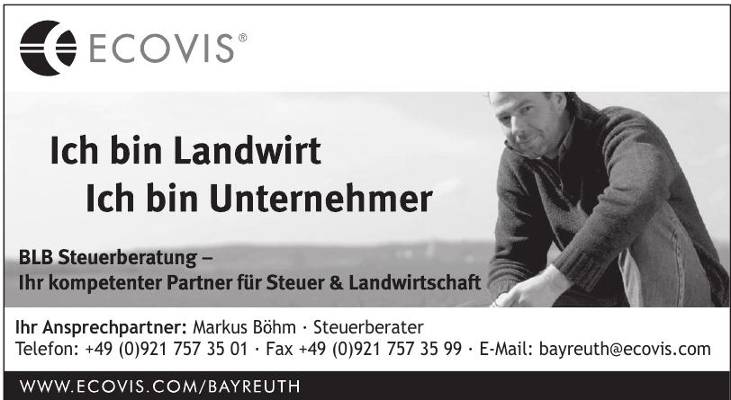 Ecovis - Markus Böhm Steuerberater