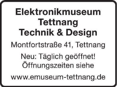 Elektronikmuseum Tettnang