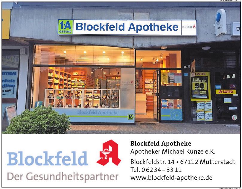 Blockfeld Apotheke