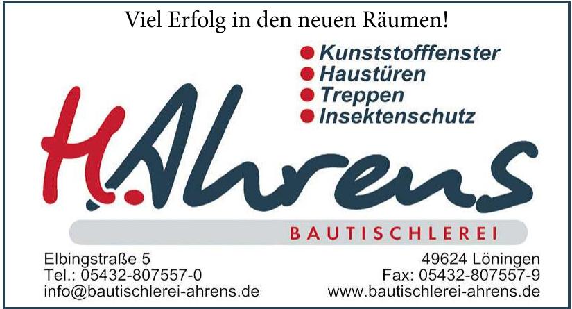 Bautischlerei Ahrens