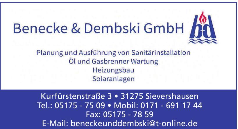 Benecke & Dembski GmbH