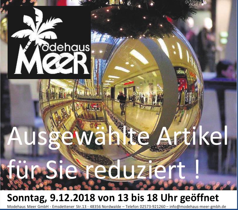 Modehaus Meer GmbH