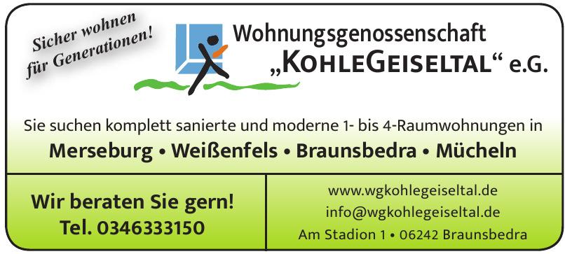"""Wohnungsgenossenschaft """"KohleHeiseltal"""" e.G."""