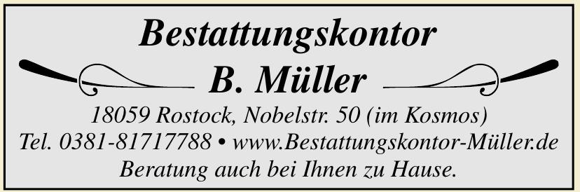 Bestattungskontor B. Müller