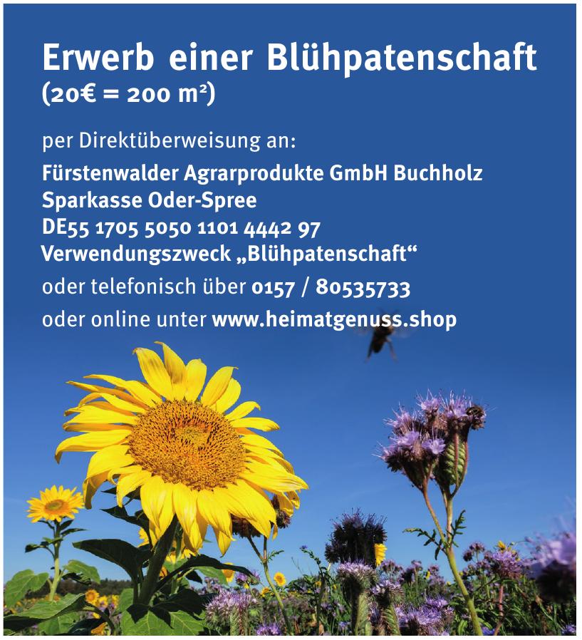 Fürstenwalder Agrarprodukte GmbH Buchholz