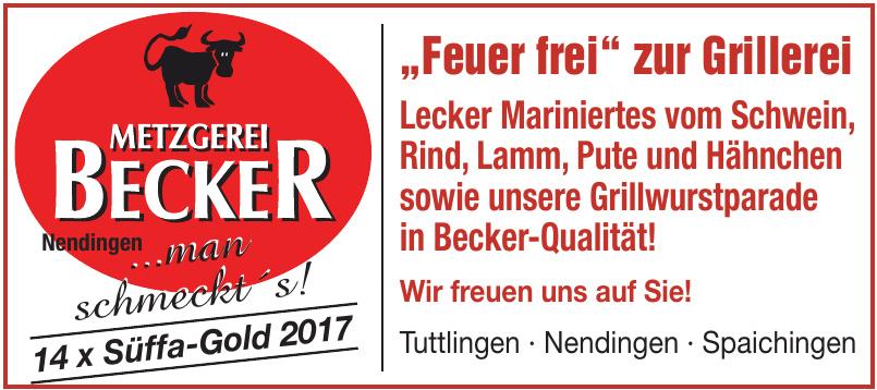 Metzgerei Becker