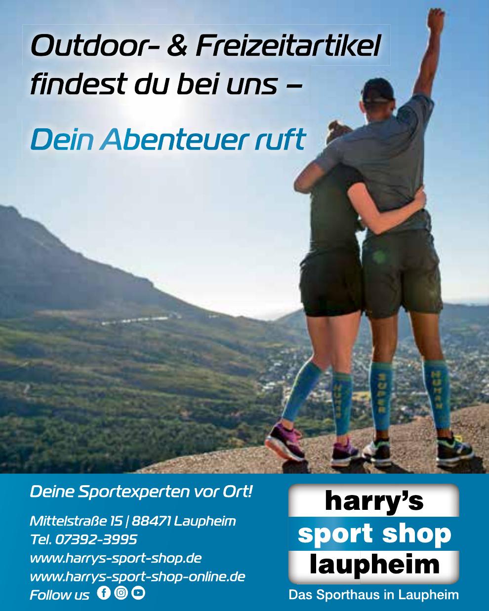 Harry´s Sport Shop Laupheim