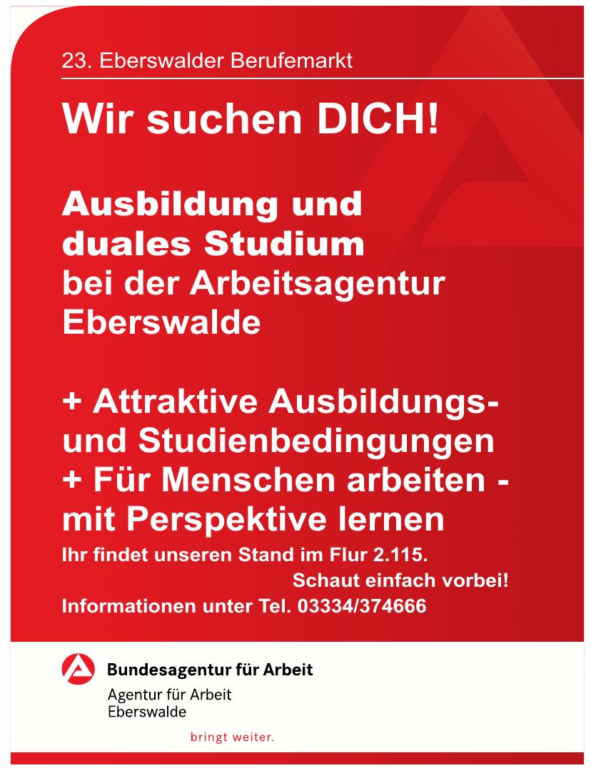 23. Eberswalder Berufemarkt