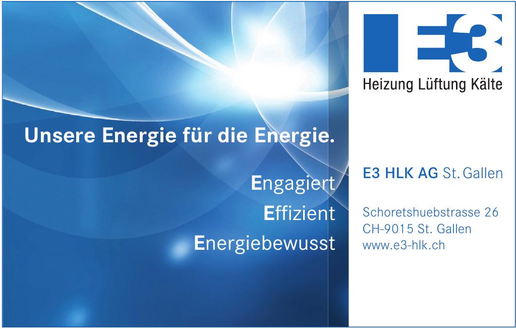 E3 HLK AG St. Gallen