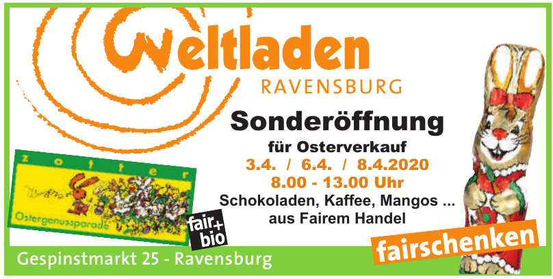 Weltladen Ravensburg