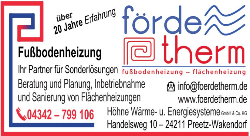 Höhne Wärme- und Energiesysteme GmbH & Co. KG