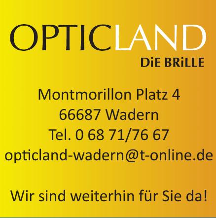 Opticland Die Brille