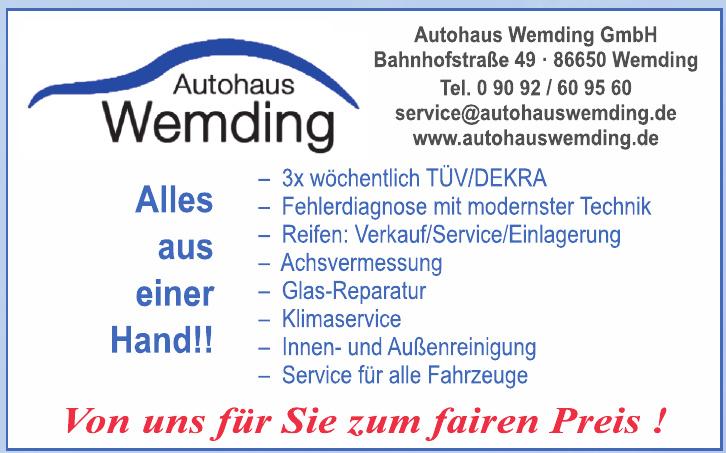 Autohasu Wemding GmbH
