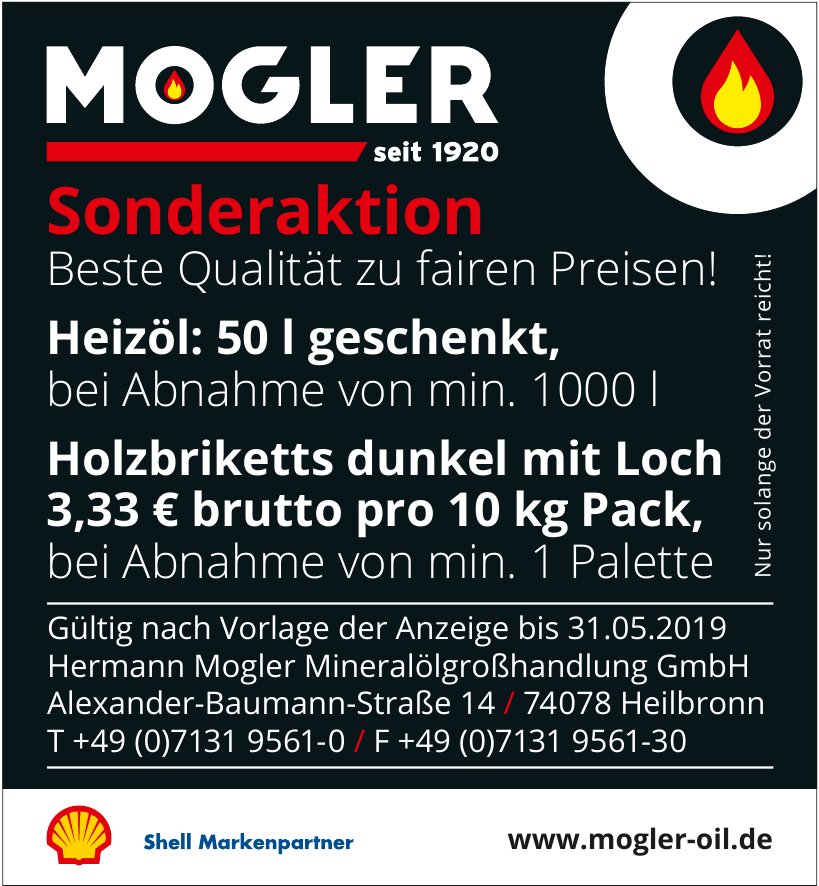 Hermann Mogler Mineralölgroßhandlung GmbH