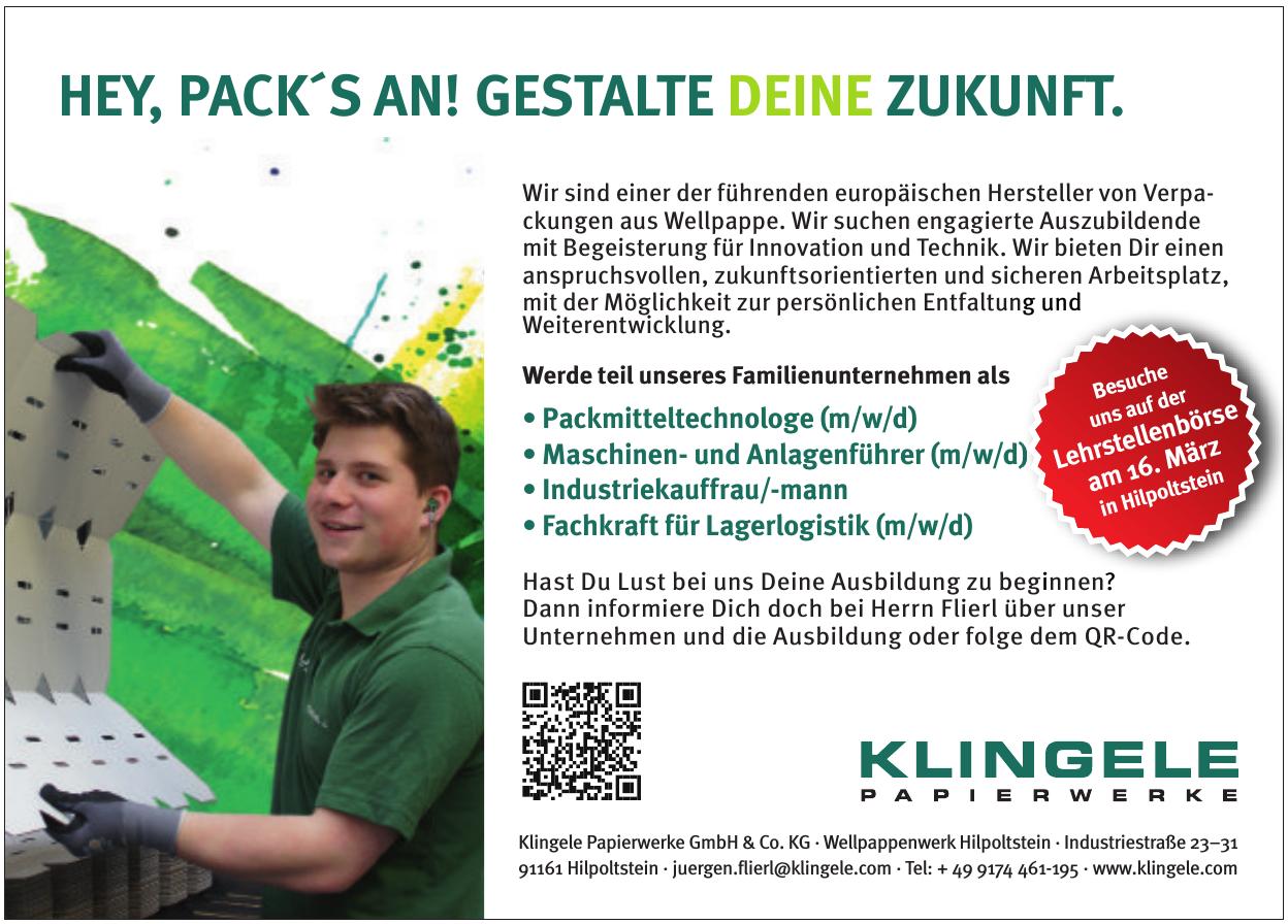 Klingele Papierwerke GmbH & Co. KG - Wellpappenwerk Hilpoltstein